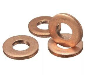 4 x Injector Copper Washer Seals O-Ring for Kia Sorento 2.5 CRDI