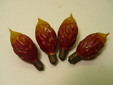 4 Seed Pod Figural Lamps.