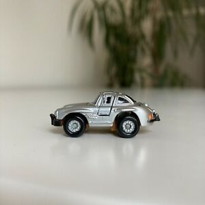 Micro Machines 1988 Galoob Mercedes 300SL Silver Deluxe Vehicle VGC