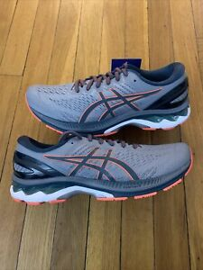 Asics Gel-Kayano 27 Sheet Rock / Blue Running Shoes 1011A767 021 Men's 10.5