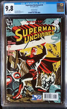 Superman Unchained (2013 DC) #6 Cho Golden Age Variant CGC 9.8 1:75