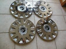 """1 SET OF 4 New 2003-2011 Mercury Grand Marquis 16"""" Hubcaps Wheel Covers"""