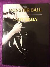 LADY GAGA Rare THE MONSTER BALL Australian TOUR 2010 SOUVENIR PROGRAM BOOK