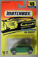 Matchbox 1:64 Scale 1996 Superfast VW CONCEPT (GREEN)