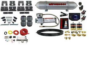 Air Tow Assist Kit w/Compressor Tank & Controls For 1999-06 Silverado 1500 Truck