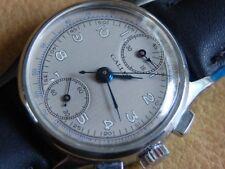 Stunning Vintage Men's Gallet Chronograph Military Watch