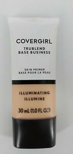 Covergirl TruBlend Base Business Skin Primer Illuminating 1 Oz New