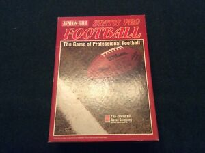 Statis Pro Football Game 1990 NFL Season Unpunched Aikman Montana Young