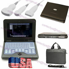 CE Portable laptop machine Digital Ultrasound scanner CMS600P2+3 probe,USA Fedex