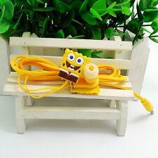 Sponge Bob 3.5mm In-ear Earbud Headphones Earphones for iPhone6 iPad3 Samsung