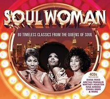 Soul Woman 80 Timeless Classics From The Queens Of Soul [4CD] Album Best OF Gift