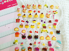 Sweet Bee Ginger man Cake Bow Sticker Scrapbook Card DIY Diary Kids Party