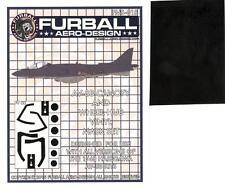 Furball Decals 1/48 HAWKER AV-8B HARRIER Canopy & Wheel Hub Vinyl Mask Set