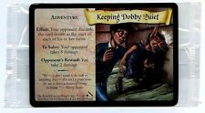 PROMO ENGLISH CARD HARRY POTTER N°  71/140 KEEPING DOBBY QUIET SEALED scellé