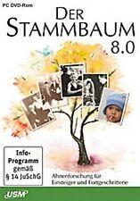 Der Stammbaum 8.0 Ahnenforschung Deutsch OVP NEU