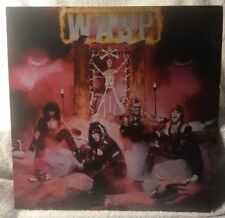 WASP Heavy Metal LP Vinyl Record Album PROMO