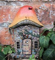 Garden Fairy Ornament Door Magical Secret Enchanted Mushroom Hobbit Cherub