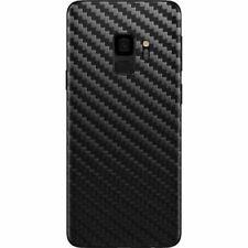 Transparente Samsung Galaxy S9 Trasera Adhesivo de Fibra de Carbono Funda Vinilo