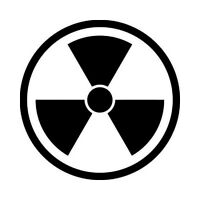 Biohazard Decal Vinyl Sticker Car Window Wall Logo Bumper Grenade Radioactive