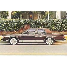 1984 Mercury Grand Marquis Postcard pc751-RZZCIO