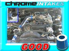 BLUE 86 87 88 89 90 91 92 TOYOTA SUPRA 3.0 3.0L V6 NON-TURBO N/A COLD AIR INTAKE