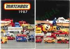UK Matchbox catalogue 1987