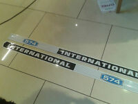 International Tractor Bonnet stickers / decals