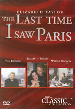 THE LAST TIME I SAW PARIS - ELIZABETH TAYLOR - CLASSIC COLLECTION - DVD