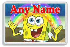 Personalised Spongebob Squarepants Fridge Magnet - Add any name! *Great Gift*
