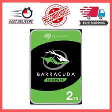 Seagate Internal Hard Drive 2TB SSHD Solid State Drive ST2000LX0015 3.5-In SATA