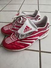 ADIDAS Predator Absolute Mens Size 7 Indoor Soccer Shoes Red White Beckham Kaka