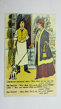 1900s Vintage Comic F Macleod?Postcard Negus Port Pet Shop Dog Fancier Breeder