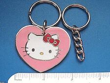 HELLO KITTY - keychain / comes with additional heavy duty key chain  GIFT BOXED