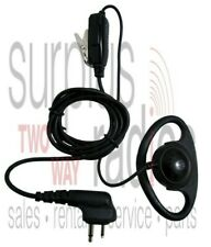 Motorola D Ring Headset Ptt Cp150 Cp200 Rdu4100 Rdx Ct250 Ct450 Gp300 Dtr Xtn