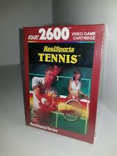 NEW FACTORY SEALED REALSPORTS TENNIS PAL VERSION FOR ATARI 2600 (NOT FOR USA M12
