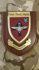 Pathfinders Parachute NewStyle Personalised Military Wall Plaque UK Made for MOD
