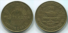 TF103 Monte Carlo 1987 Le Texan, Margarita Tex-Mex Cuisine, very rare token 35mm