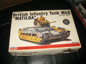 "MIB British Infantry Tank MkII ""Matilda"" by Bandai in 1/48 scale"