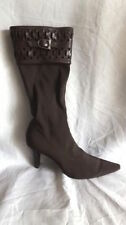 High (3 in. and Up) Heel Clubwear Mid-Calf Boots for Women