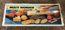 VINTAGE Multi Wonder S-309 Fruit & Vegetable Slicer in Original Box. EUC