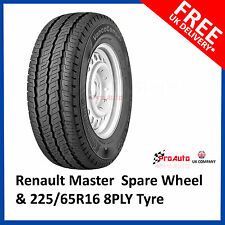 """16"""" Renault Master 2010 - 2017 Full Size Spare Steel Wheel and 225/65 R16C Tyre"""