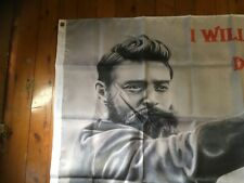 POSTER PRINT NED KELLY man cave flag southern cross eureka pool room sign flag