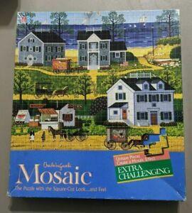 """Vintage New Old Stock 1985 Charles Wysocki Mosaic Puzzle/""""Gull's Nest"""" Sealed"""
