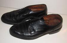 ALLEN EDMONDS Bradley Men's Black Leather Split Toe Oxford US Size 10.5 D