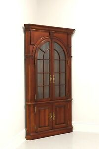 PENNSYLVANIA HOUSE Solid Cherry Traditional Corner Cabinet - A