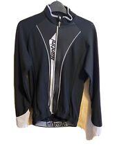 Santini Vega Medium Long Sleeve Jersey Black