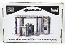 4Ground M28S-JES-S3 Jesserai Industrial Ward Set with Magnets 28mm SF Terrain