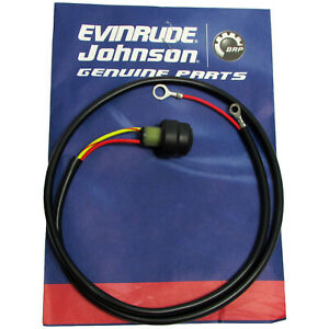 Evinrude/Johnson New OE Tiller Handle Start Stop Switch & Button 583929, 0583929
