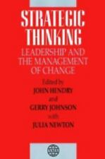 Strategic Thinking: Leadership and the Management of Change-ExLibrary