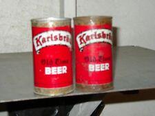 2 Diff Karlsbrau Ft Beer cans Vg+ Duluth Brewing Co. Minnesota